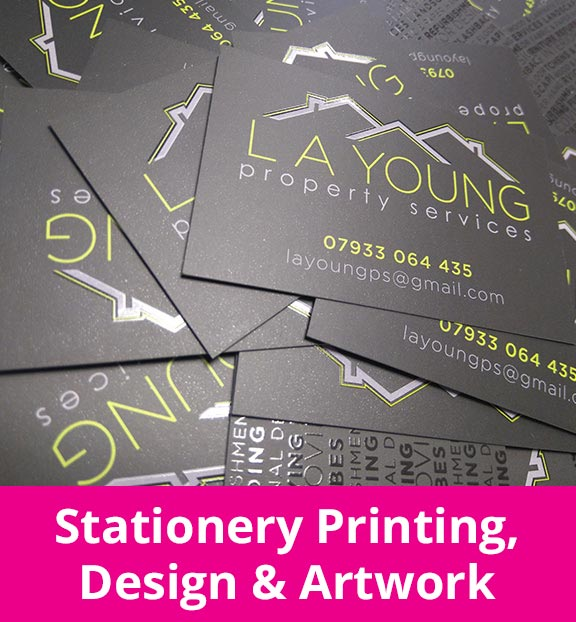 Stationery Printing, Design & Artwork